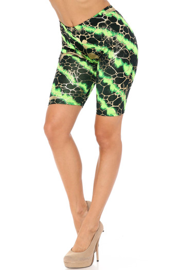 Wholesale - Colorcade Plus Size Biker Shorts - Made in USA - LIMITED EDITION