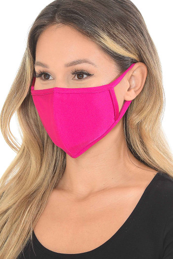 Wholesale - Premium Scuba Face Mask with Rear PM2.5 Pocket - Made in the USA