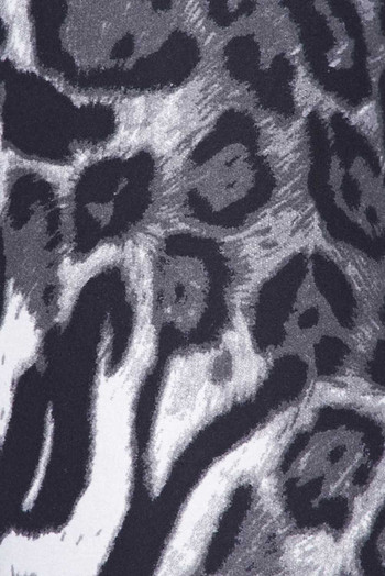 Wholesale - Buttery Soft Black and White Siberian Tiger Kids Leggings