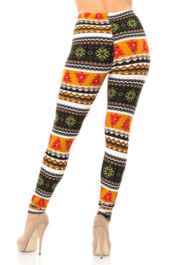 Wholesale - Buttery Soft Christmas Tree and Snowflake Leggings