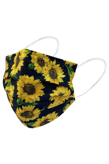 Wholesale - Sunflower Disposable Surgical Face Mask - 50 Pack - 2 Styles