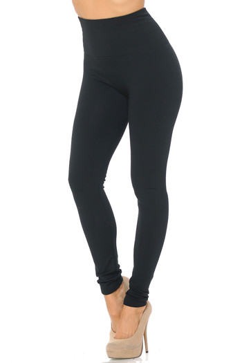 Wholesale - High Waisted Fleece Lined Leggings - New Mix