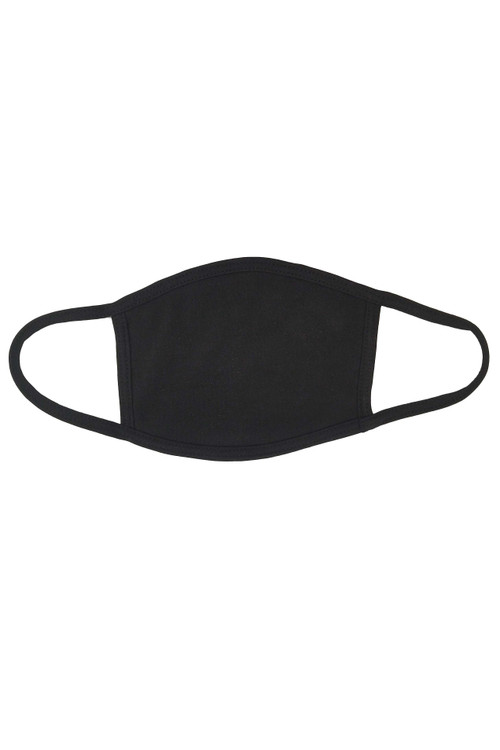 Wholesale - Seamless Cotton Face Mask - No Rear Pocket - Made in USA