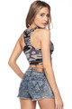 Wholesale - Buttery Soft Camouflage Women's Bra Top