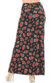 Wholesale - Buttery Soft Jeweled Hearts Maxi Skirt