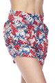Wholesale - Buttery Soft All Over USA Shorts