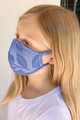 Wholesale - Kids Embroidery Styled Floral Face Mask - Made in the USA