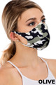 Wholesale - Reusable Single Ply Camouflage Face Mask