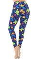 Wholesale - Buttery Soft Ghostbusters Ghosts Halloween Leggings - Plus Size