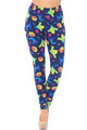 Wholesale - Buttery Soft Ghostbusters Ghosts Halloween Plus Size Leggings