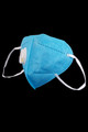Wholesale - Blue KN95 Face Mask with Air Valve - Individually Wrapped
