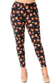 Wholesale - Buttery Soft Gingerbread Christmas Extra Plus Size Leggings - 3X-5X