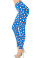 Wholesale - Buttery Soft Icy Blue Christmas Penguins Leggings