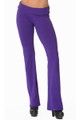 Front side image of Wholesale - USA Solid Cotton Yoga Leggings