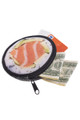 Wholesale - Round Graphic Print Coin Purse - 18 Styles