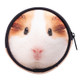 Guinea Pig Wholesale - Round Graphic Print Coin Purse - 18 Styles