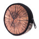 Wood  Wholesale - Round Graphic Print Coin Purse - 18 Styles