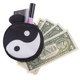 Yin Yang  Wholesale - Round Graphic Print Coin Purse - 18 Styles