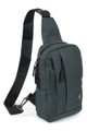 Wholesale - Cotton Crossbody Sling Bag with Reversible Strap - 3 Colors