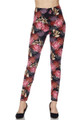 Wholesale - Buttery Soft Cranes and Chrysanthemums Leggings