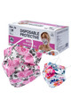 Wholesale - Floral Rose Bloom Disposable Surgical Face Mask - 50 Pack - 2 Styles