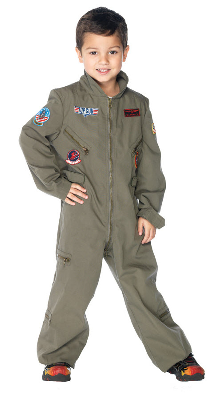 Boy's Top Gun Flight Suit