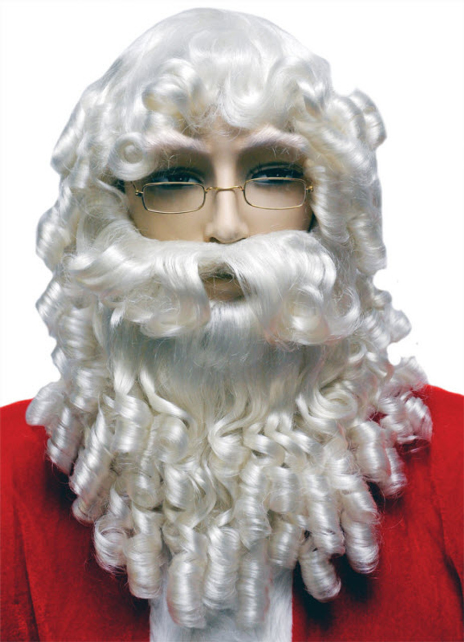 Santa Wig And Beard Set Lw64