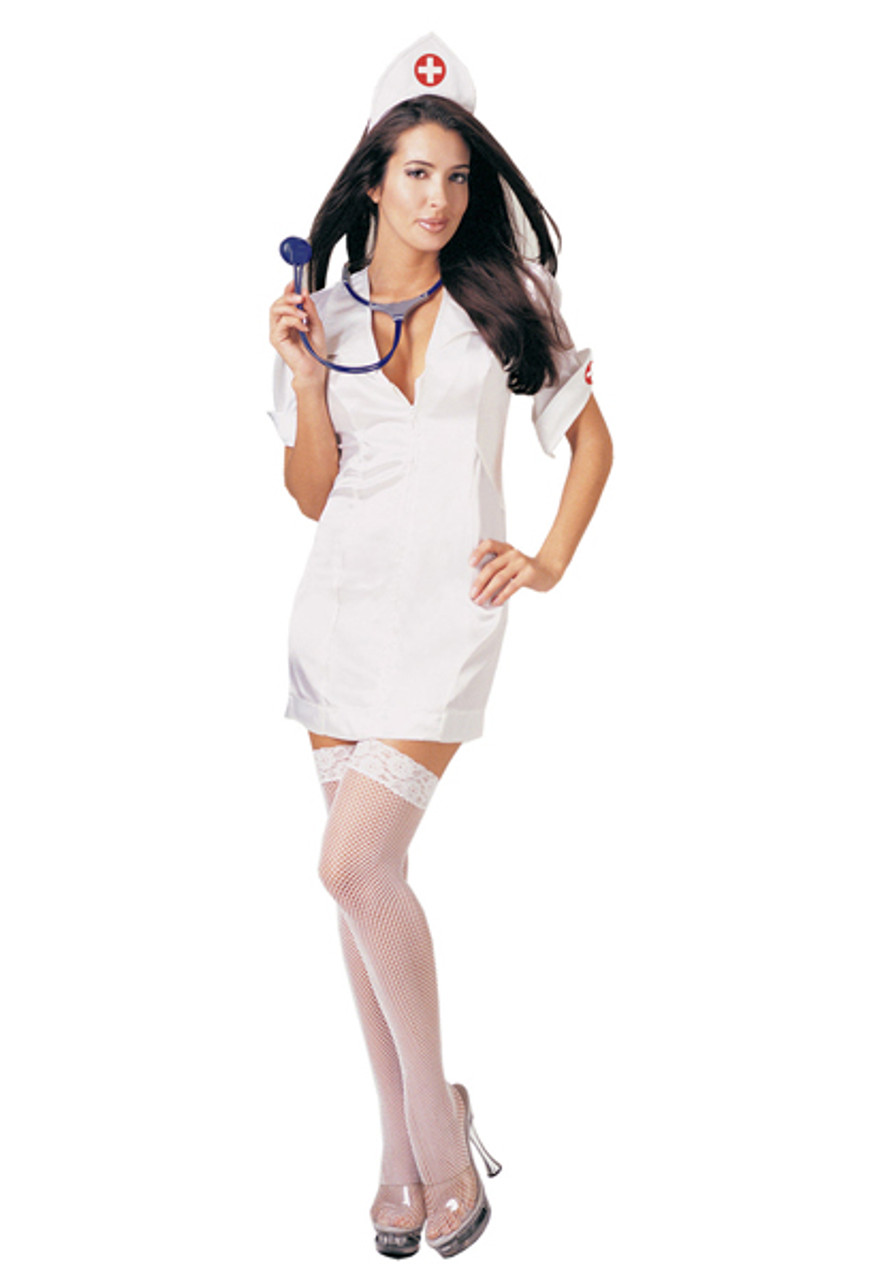 Womens Sexy Nurse Costume Ua8589 - Halloween Express-1737