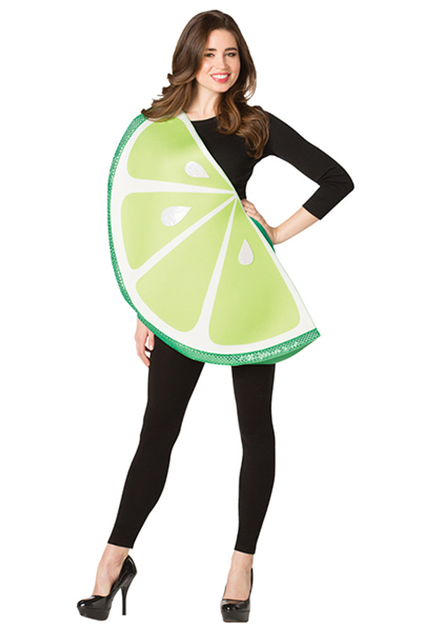 f98952e1308d2 Adult Lime Slice Costume - Halloween Express