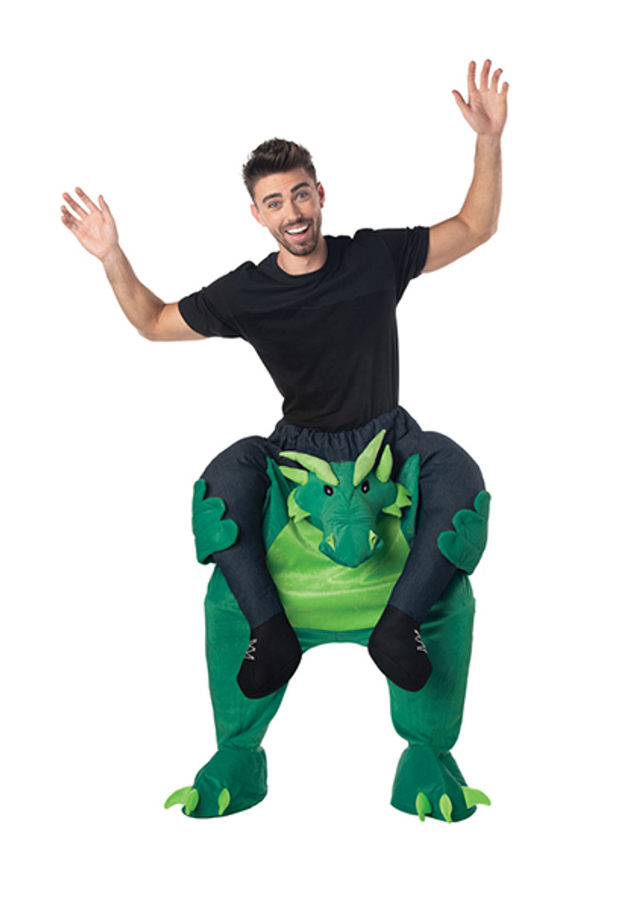 9d52dc7bc Adult Carry Me Dragon Costume - Halloween Express