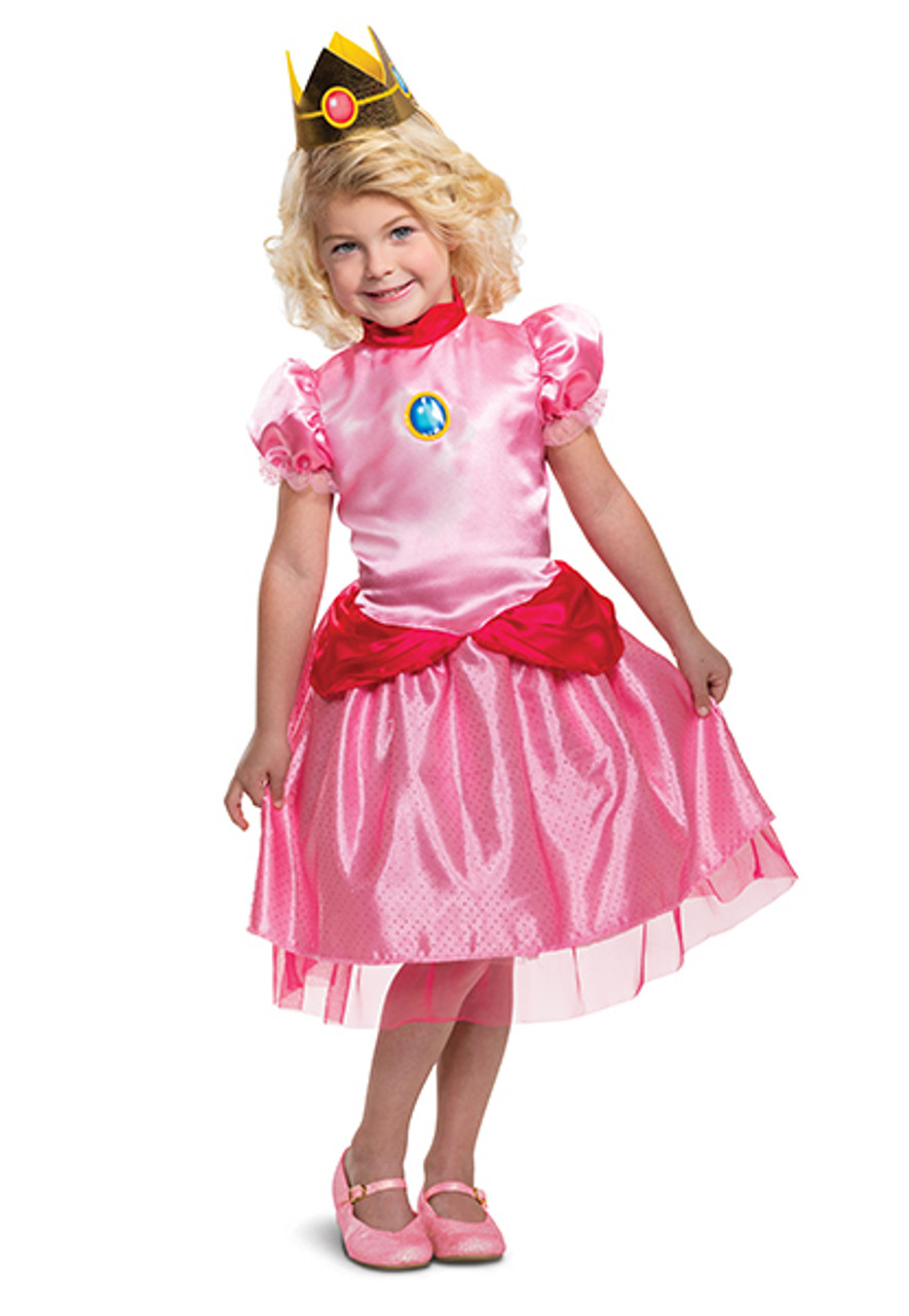 Princess Peach Toddler Costume Halloween Express