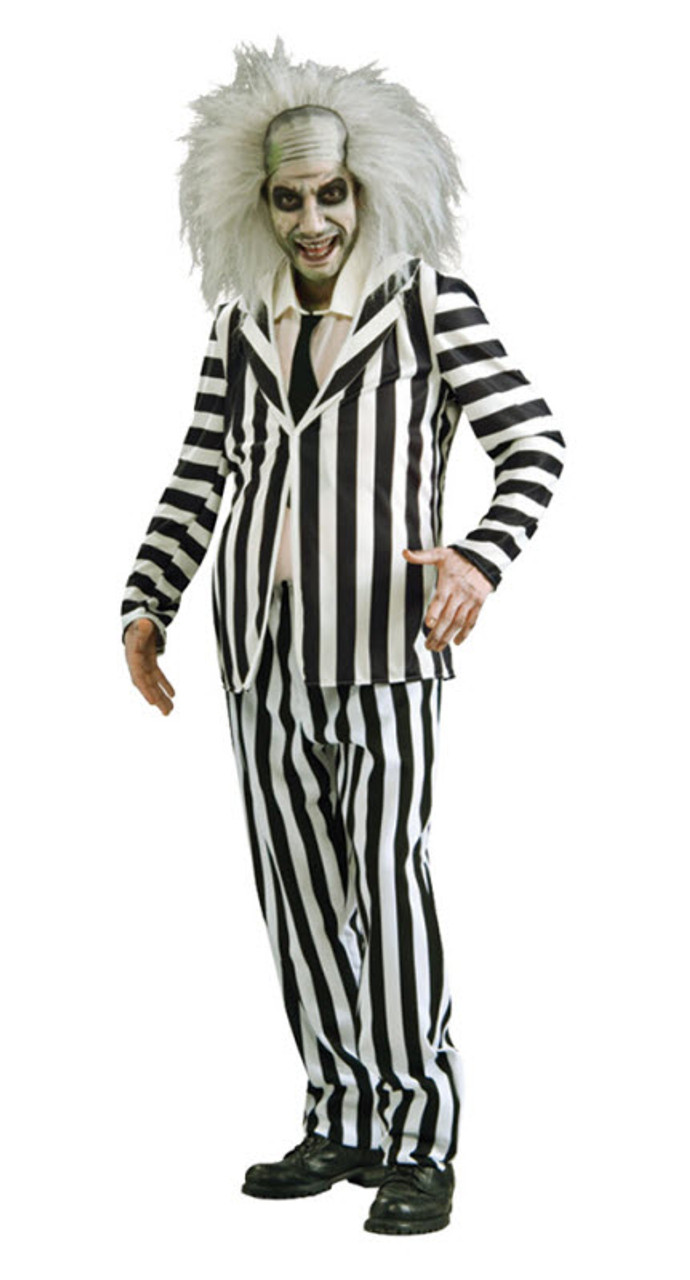 Womens Adult Beetlejuice Corset Striped Costume Size Small 4-6