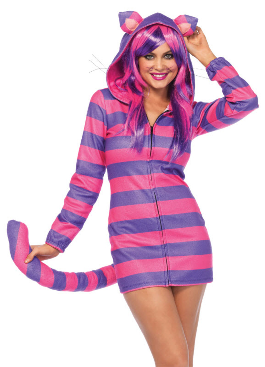 Women s Cheshire Cat Costume UA85553 - Halloween Express 77b1f967b