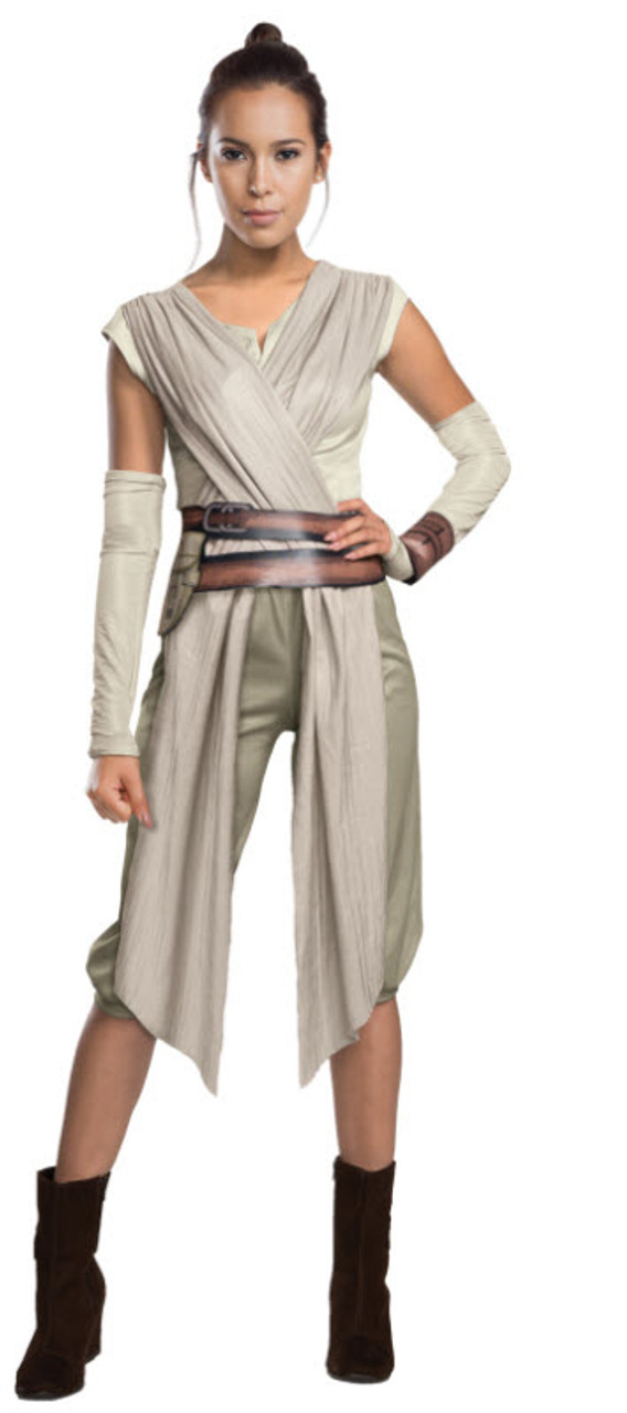 Adults Star Wars Episode VII Rey Hood With Eye Mask Goggles Costume Accessory