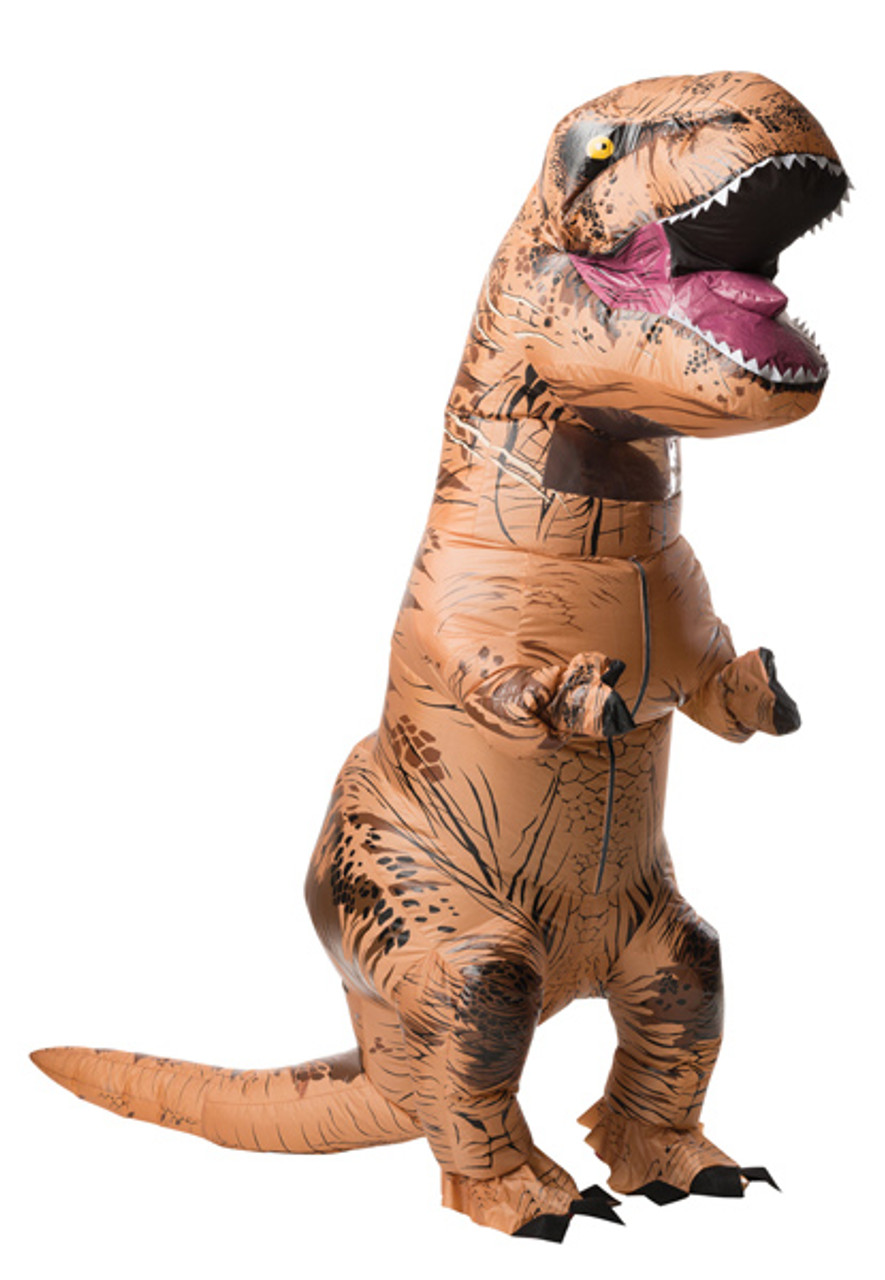 Adult Dinosaur Costume Inflatable T-Rex Suit with Exclusive Red Drawstring Bag