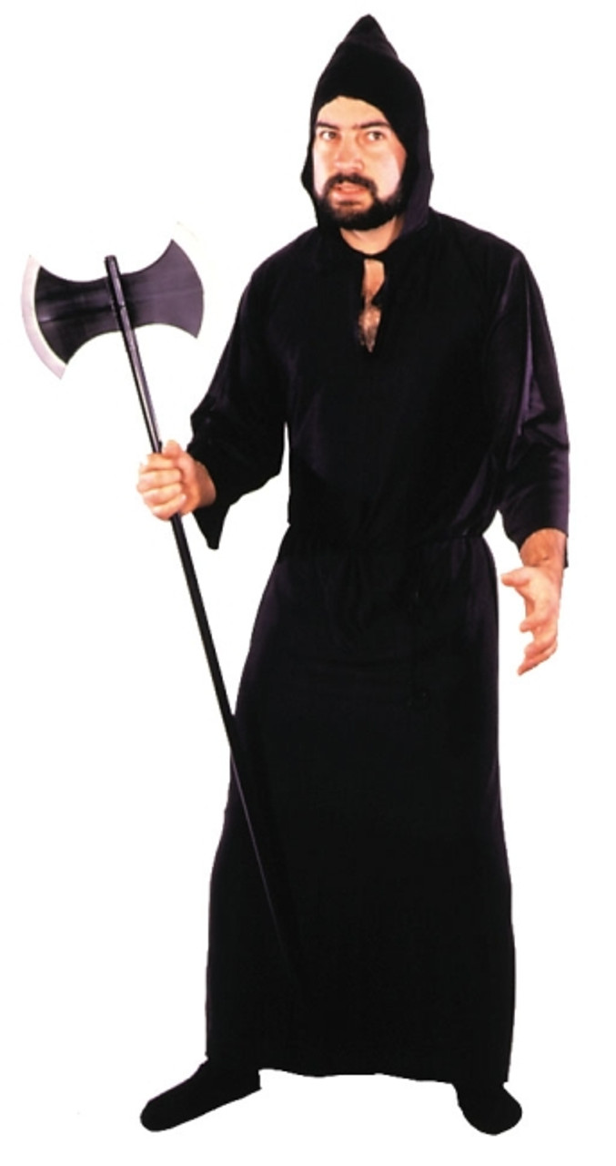 Black /& Grey Men/'s Wizard Robe Costume Fancy Dress Adult Mens Purple Outfit