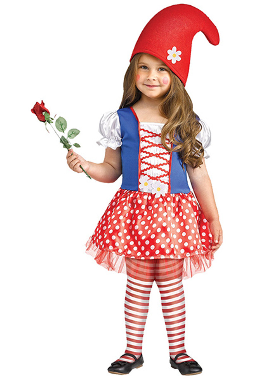 Girl\u0027s Gnome Costume