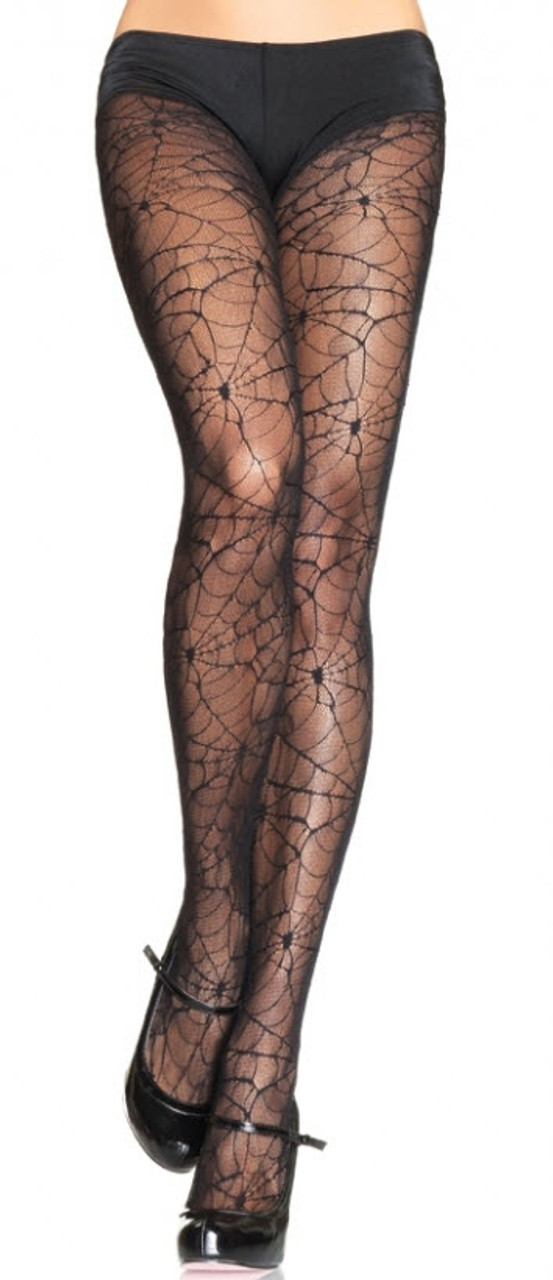 23be1d4a03b5b Spider Web Tights UA903 - Halloween Express