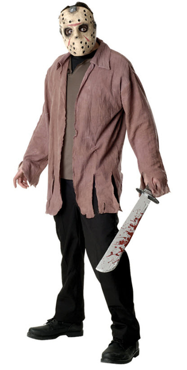 Friday the 13th Adult Costume Jason Cheerleader