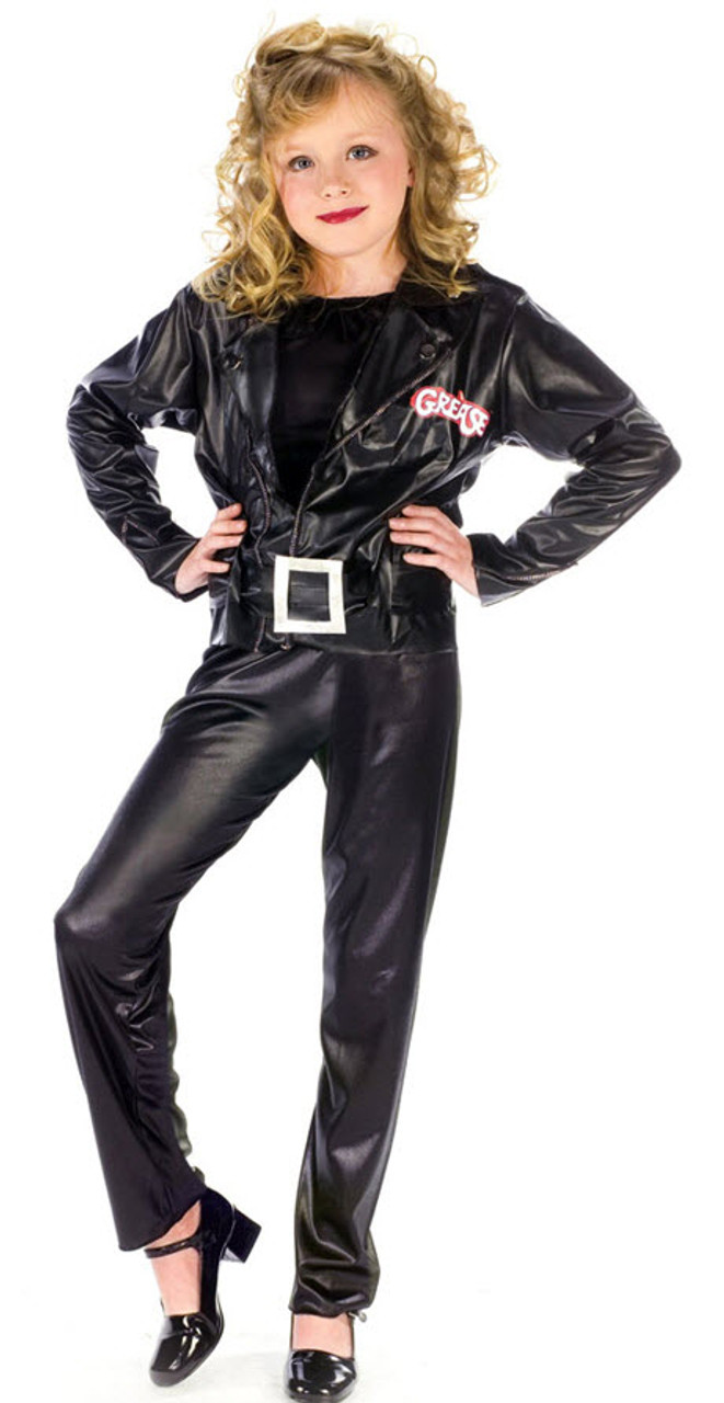 ef71f56fa Girl's Grease Cool Sandy Costume - Halloween Express