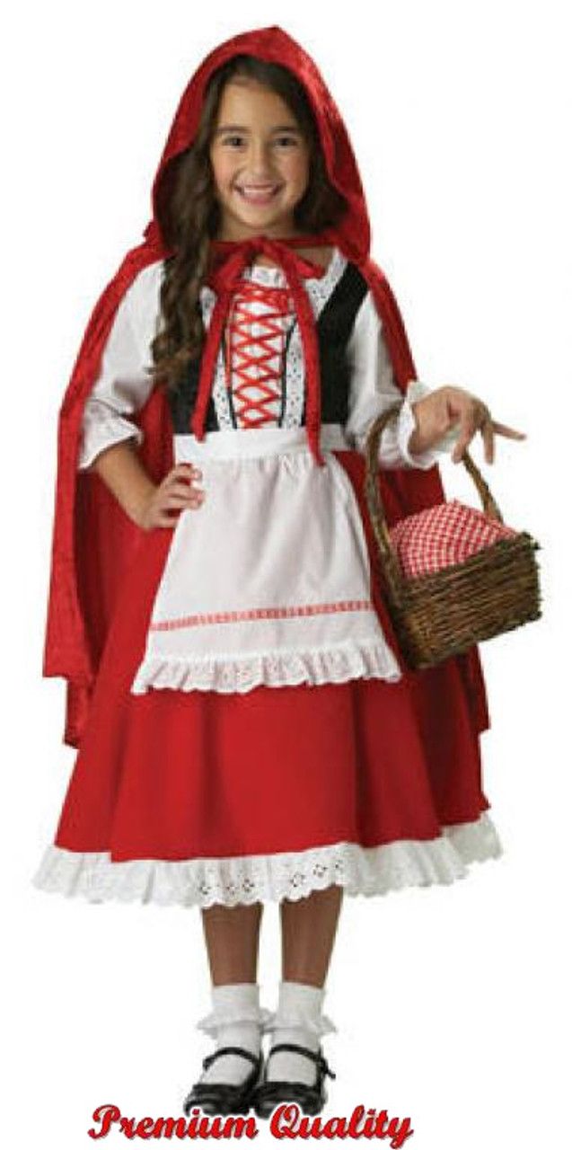 Girl S Little Red Riding Hood Costume Ic7013 Halloween Express