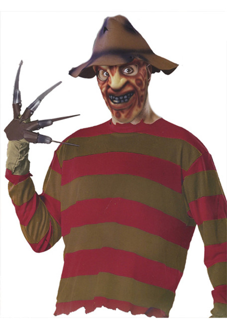 High Quality Menu0027s Freddy Krueger Costume