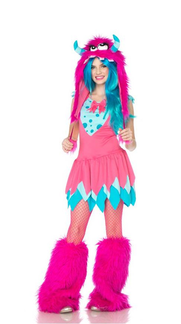 Think, that for halloween any teen girl