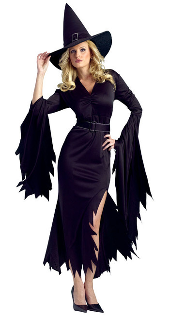 Womenu0027s Gothic Witch Costume FW111044