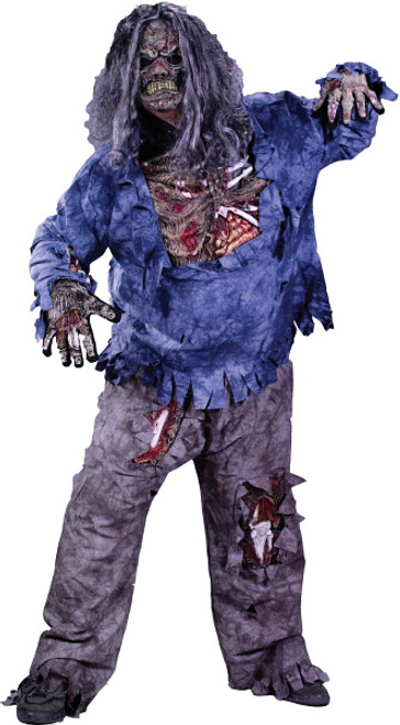 Zombie Halloween Costumes for Adults