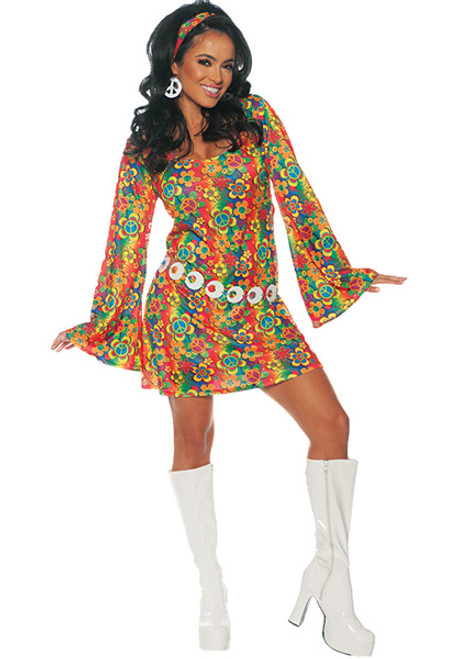 a417636b69b55 Hippies   Go Go Costumes for Women