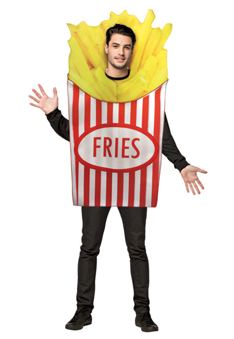 Rasta Imposta. In Stock. Adult French Fries Costume e281b98901a9