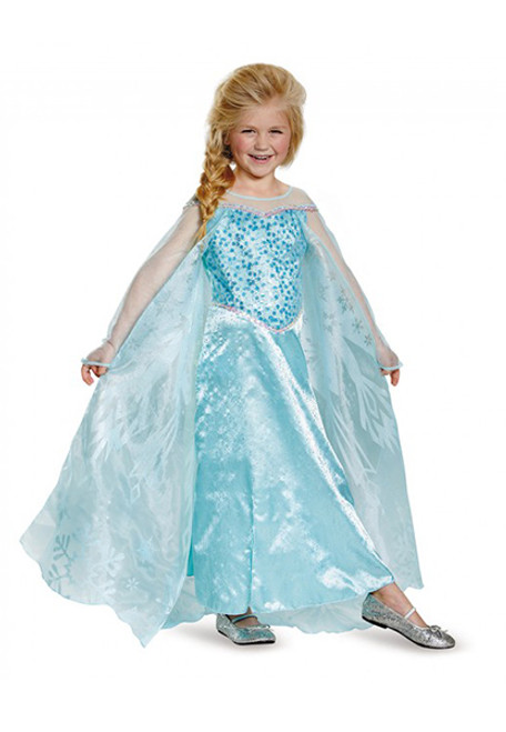 Child's Frozen Elsa Prestige Costume