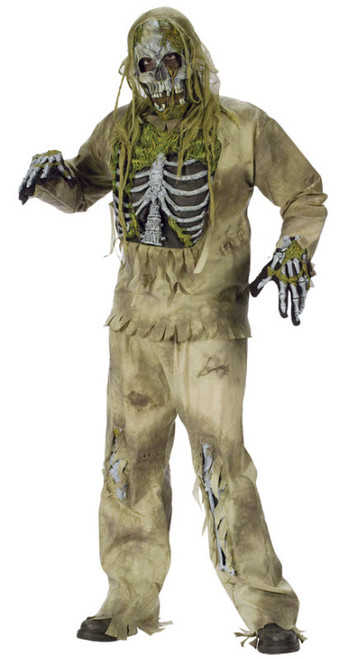 Men's Skeleton Zombie Costume FW5455