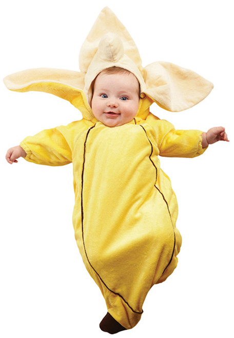 Infant Banana Bunting Costume